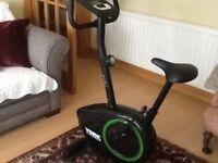 York 100 fitness bike - as new