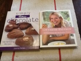 """Gwyneth Paltrow cook book """"NOTES FROM MY KITCHEN """" Cadbury Chocolate Recipe book As New"""