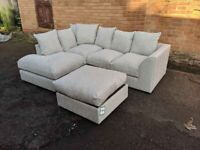 BRAND NEW DYLAN BARCELONA COUCHE CORNER OR 3 AND 2 SEATER SOFA
