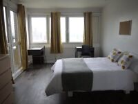 Double rooms available Small 150 big 190 Our agency wants only 2 weeks deposit.