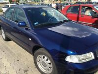 Left Hand Drive Audi A4 1.9 Tdi works perfect and very good runner