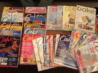 Selection of cake magazines