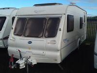 2003 Bailey ranger 550/ 6 berth fixed bunk beds