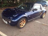 2005 Smart Roadster 80 convertible Auto 698cc Px welcome