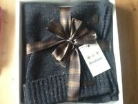 Barbour Hat and Scarf Set