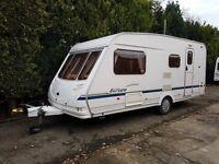 Sterling Europa 525 4 berth caravan 2004 VGC Seperate Shower, Awning BARGAIN !!