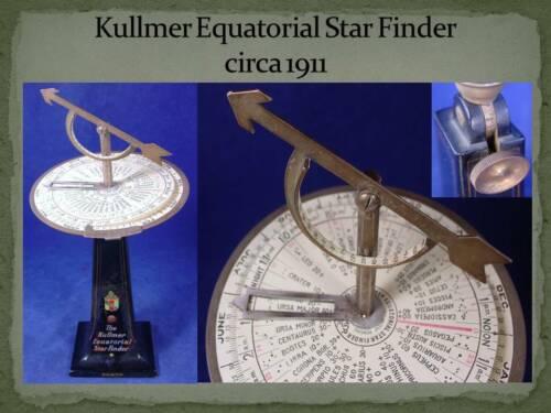 Kullmer Equitorial Star Finder circa 1911