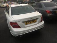 Mercedes Benz C CLASS C250 CDI Saloon White