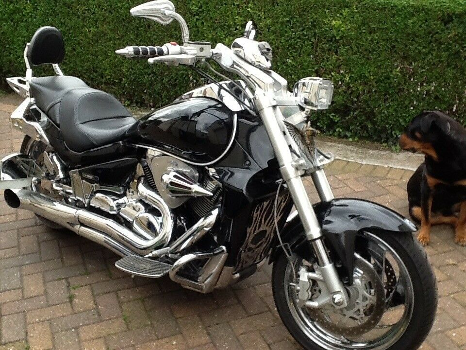 for sale is my lovely suzuki vzr 1800 k7 intruder in good condition for the year in ormesby. Black Bedroom Furniture Sets. Home Design Ideas