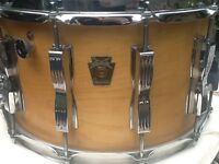 Ludwig Maple snare drum 14x8""
