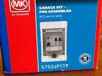MK Sentry Garage Kit-RCD and 2XMCB