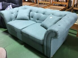 Brand new DFS chesterfield style sofa