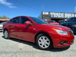 *** 2012 HOLDEN CRUZE *** ONLY 96,000 KMS *** FINANCE AVAILABLE ***