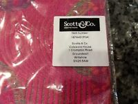 """NEW still wrapped. Scot & Co. Scarf/Pashmina """"Floating Circles"""""""