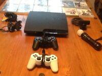 PS3 Slim + 30 games