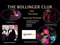 Miss Meadow & James Bollinger presents : The Bollinger Club.