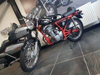 Cafe Racer 125cc, Only 391 Miles