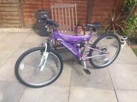 Promax Power Catalina Child's Mountain Bicycle (Purple)