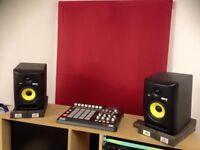 KRK RP5 Studio Monitors (Pair) + Extras