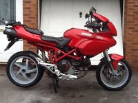 Ducati Multistrada 1000ds may part ex or swap