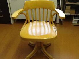 Beech Swivel Chair