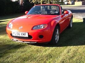 Regretted sale of my wife's beloved mx5.superb condition inside and out(and under).