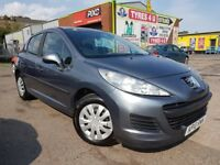 **12 MONTHS WARRANTY** PEUGEOT 207 S 1.4 (2010) - 5 DOOR - LOW MILES - HPI CLEAR!