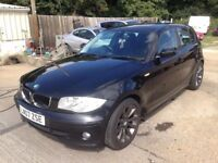 ** NEWTON CARS ** 07 BMW 118D 2.0 SE, 5 DR, GOOD OVERALL, 133,000 MLS, ALLOYS, MOT MAY 2019, CALL US