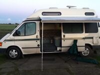 Ford Transit, 2 berth, last owner 18 years.