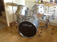 Stagg drum kit excellent condition ideal starter kit delivery possible
