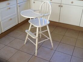 Child's high chair/ dining chair