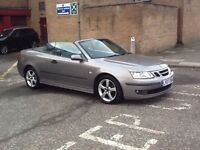 DIESEL AUTOMATIC 2007 SAAB 9-3 VECTOR DIESEL AUTOMATIC CONVERTIBLE 2DR FULL SERVICE HISTORY,LEATHER.