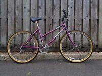 26 wheels, 18 inch frame vintage bike