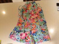 Women's floral play suit