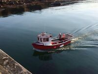 21ft GRP fishing boat
