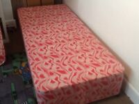 Single bed 2ft 6in