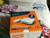NOW TV box and 3 months subscription