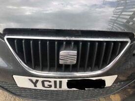 2008 - 2012 MK4 SEAT IBIZA 5 DOOR FRONT CENTRE GRILL