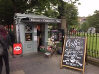 No 1 Kiosk for Catering or Retail/Stance on Princes Street Edinburgh adjacent to The Scott Monument