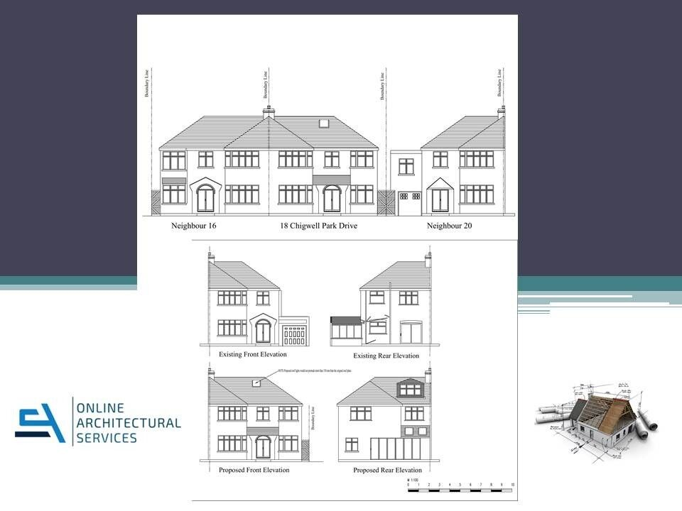 Planning Application From 295 Architectural Services Architect