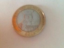 Rare £2 coin fo collcfion
