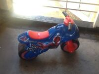Spiderman Balance Bike