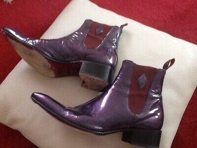 Jeffery West boots size 8. Excellent condition. Colour Purple. Worn a few times