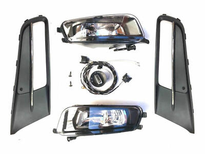 Fog Light Retrofitting Set Kit Complete Set Vw Sharan 7N Highline 10