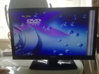 Digihome LED Hd 22 inch TV/Dvd combi Plus 3 boxes boys Toys £40