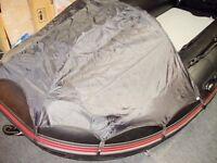 Inflatable boat Bow canopy spray dodger fit rib dinghy Honda Zodiac wetline