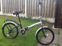 Apollo transition fold up bike