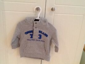 Timberland hoodie size 9 months