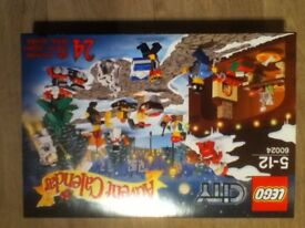 Lego City Advent Calendar 60024( New and Unopened) 2013