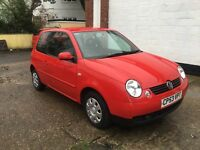 VW Lupo 1.4s in Flash Red one owner from new only covered 48k 2004 model
